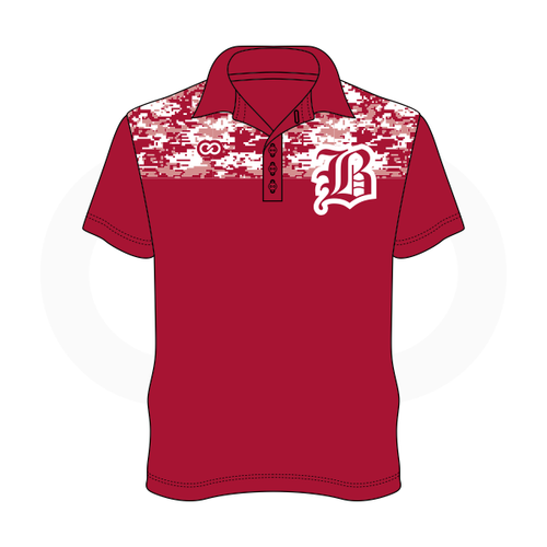 Hoosier Basketball Polo Shirt