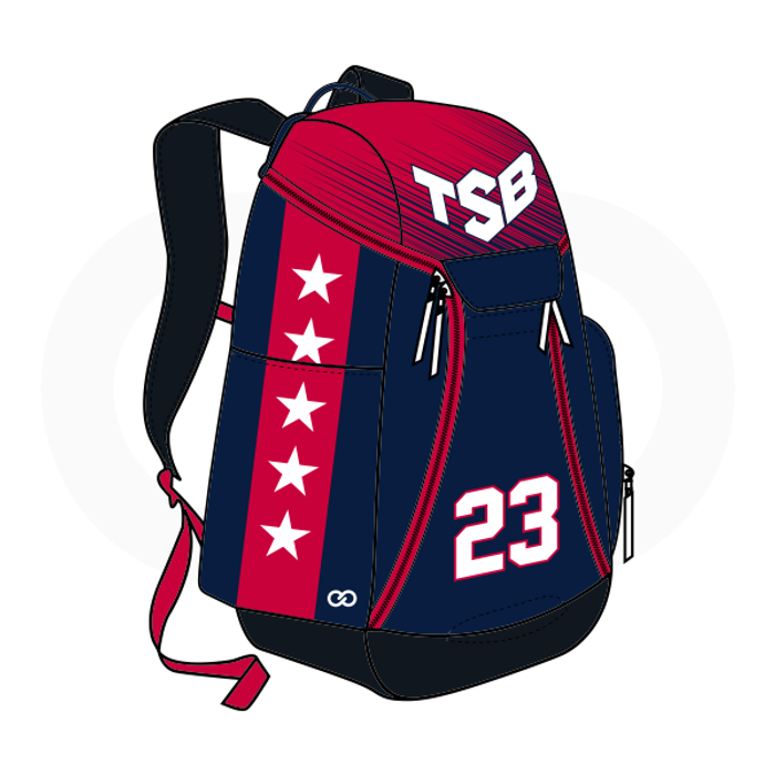 Tamar Slay Basketball Backpack (Option 2)