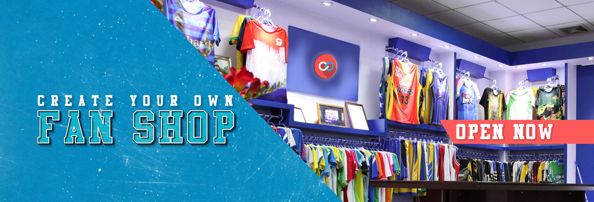 Create Your Own Fan Shop