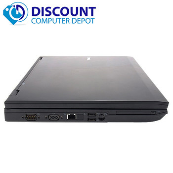 "Dell E-Series 14.1"" Laptop Computer PC Core 2 Duo Processor 4GB 250GB Windows 10 Home Premium"