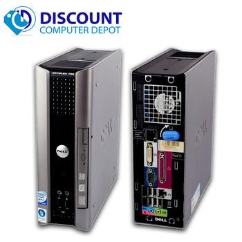 Dell Optiplex Desktop Computer PC Core 2 Duo Windows 10 Pro 4GB 160GB DVD