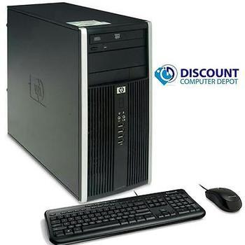 HP 8000 Elite Windows 10 Pro Desktop Computer C2D 3.0GHz  8GB 250GB DVDRW WiFi