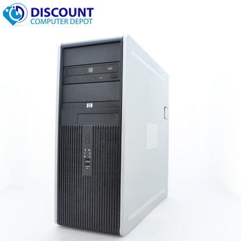 HP DC Desktop PC Computer Tower Windows 10 Intel 1.8GHz 8GB 250GB