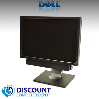 "Dell 19"" LCD Monitors Widescreen Ultrasharp 1909W(Lot of 2) With (1) Dell Soundbar"