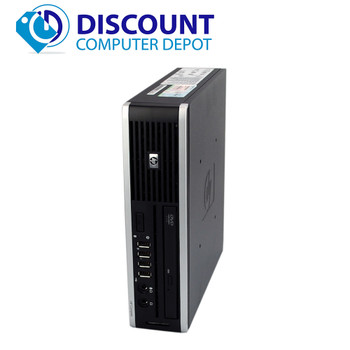 HP 8000 Elite Small Thin Desktop Computer PC C2D 3.0GHz 4GB 80GB Windows 10