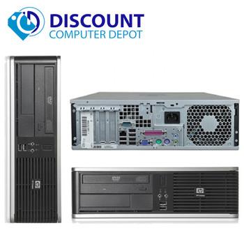 Fast HP Desktop Computer PC Dual Core 4GB 160GB DVD-RW Windows 10