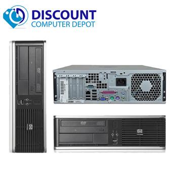 Fast HP Core 2 Duo Windows 10 Pro Desktop Computer PC 2.33GHz 4GB 500GB