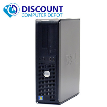 FAST Dell Optiplex Windows 10 Desktop PC Computer Tower Core 2 Duo 4GB Ram 160GB
