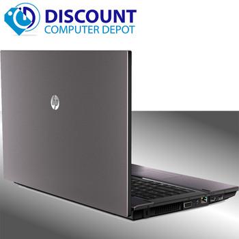 "HP 620 15.6"" Laptop Computer 4GB 160GB Windows 10 DVD- RW Wifi with HDMI Port"