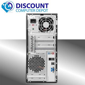 Fast Compaq 500B Desktop Computer PC Windows 10 Dual Core 2.7GHz  4GB 160GB