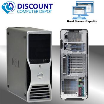 Dell Precision T3500 Workstation Computer Windows 10 Pro Xeon 8GB 500GB HDMI