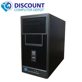 Custom Desktop Computer Intel I3-2100 3.1GHz 4GB 1TB Windows 10