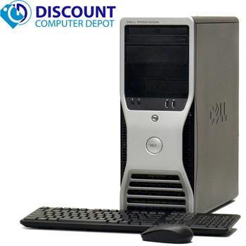 Dell Precision 390 Windows 10 Pro 3.0GHz Computer 4gb 500gb DVD HDMI Out Video