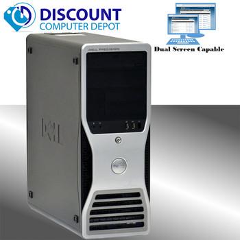 Dell Precision T3400 Workstation Computer PC Windows 10 Pro C2D 8GB 1TB HDMI
