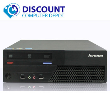 "Lenovo Desktop Computer PC Core 2 Duo 2.13GHz 4GB Windows 10 w/19"" LCD Wifi"