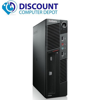 Lenovo M91P Small Desktop Computer Intel i5 PC 2.5GHz 4GB 250GB Windows 10 Pro