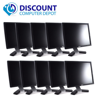 "Dell UltraSharp 1707-1708 17"" PC LCD Monitor (Grade-B Lot of 10)"