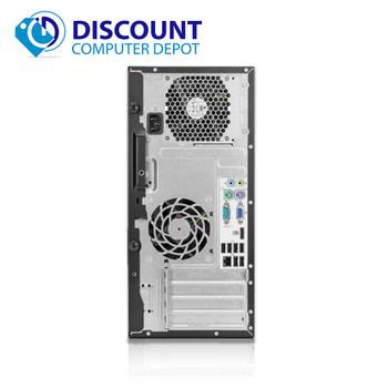 HP 6005 Desktop Computer Tower PC AMD Athlon II X2 3.0GHz 8GB 500GB Win 10 Pro
