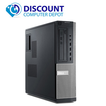 Dell Optiplex 990 Windows 10 Pro Desktop Computer PC Quad i5 3.1GHz 8GB 500GB
