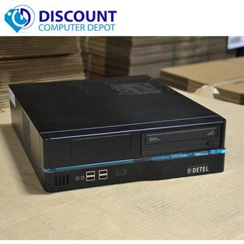 Custom Windows 10 Desktop Computer PC Intel Quad i7-2600 3.4GHz 4GB 500GB Wifi