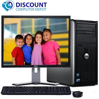 """Dell Optiplex 780 Windows 10 Tower Computer PC Intel 2.93GHz 8GB 1TB w/22"""" LCD"""