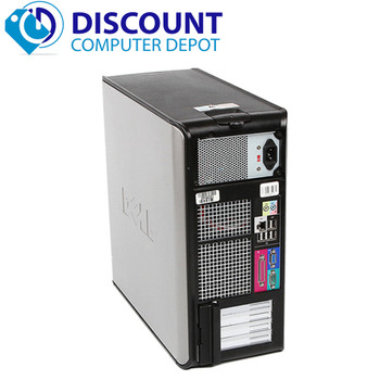 Dell Optiplex 780 Desktop Computer Tower PC C2D 2.93GHz 4GB 250GB Windows 10