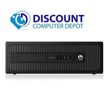 HP ProDesk 600 G1 Windows 10 Pro Desktop Computer PC i3 3.4GHz 8GB 500GB