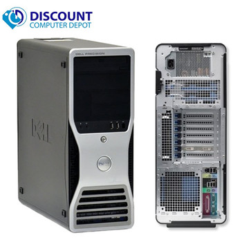 Dell Precision T7500 Workstation Computer Dual Quad Core Xeon Processors 2.4GHz 16GB Ram Keyboard and Mouse (no os or hard drive)