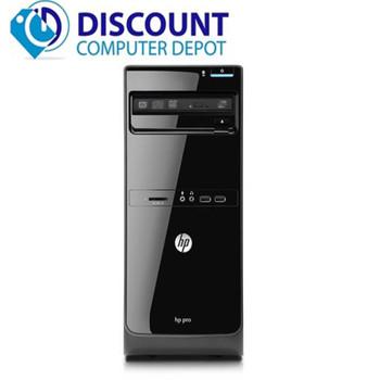 Fast HP Pro 3500 Desktop Computer PC Core  i5-3470 4GB 250GB DVD Windows 10 Wifi