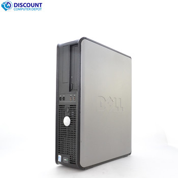 FAST Dell Optiplex Windows 10 Desktop PC Computer DC 4GB Ram DVD