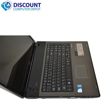 Acer Aspire 7741 Laptop Notebook Computer 4GB 320GB Intel Dual Core Win-10 Pro