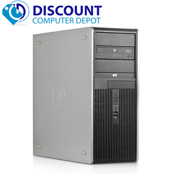 Customize Lot of 5 HP Core 2 Duo Tower Desktop Computer PC
