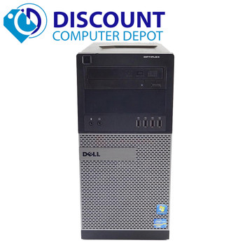 Dell Optiplex 3010 Windows 10 Desktop PC Tower Computer i3 3.4GHz 4GB 250GB