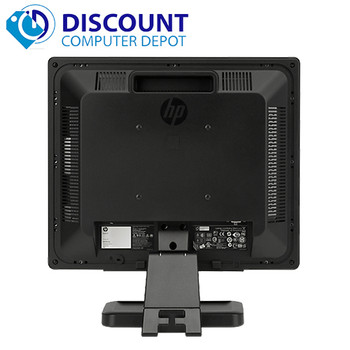 "(Lot of 5) HP 19"" Flat Panel Screen LCD Monitor with VGA Cable (1 Year Warranty)"
