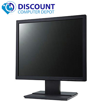 "Name Brand 17"" Flat Panel Screen LCD Monitor with VGA Cable"