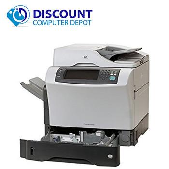 hp laserjet 9050 dn monochrome laser printer rh discountcomputerdepot com hp laserjet 4345 mfp user guide hp 4345 mfp user guide