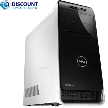 Dell Studio XPS 8100 Tower Computer 8GB 500GB Intel Core i7 Windows 10 Home wifi
