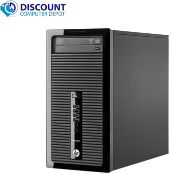 HP ProDesk 405 G1 Windows 10 Desktop Computer PC Quad Core AMD A4-5000 8GB 320GB