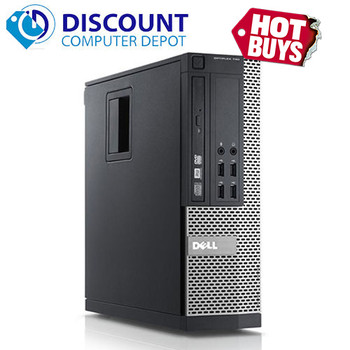 Fast Dell Optiplex Windows 10 Desktop Computer PC Core i3 3.1GHz 4GB 250GB