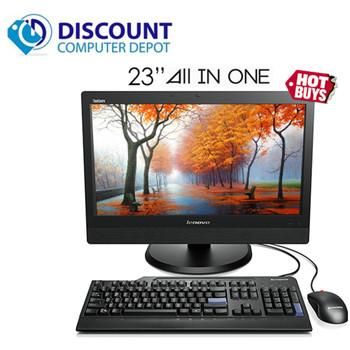 """Lenovo ThinkCentre M93z 23"""" AIO Computer Core i5-4570S 8GB 500GB Windows 10 Pro"""