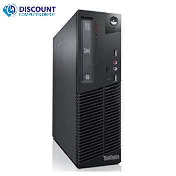 "Lenovo M82 Desktop Computer PC Fast Quad Core i5 4GB 250GB 19"" LCD Windows 10"