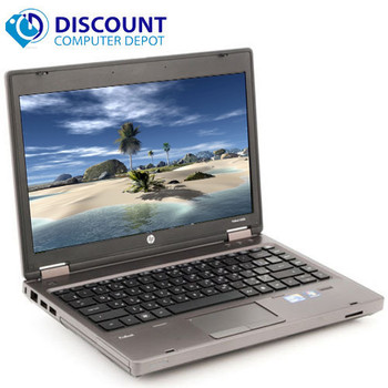 "Fast HP 6360t 13.3"" Laptop Notebook PC Intel 1.6GHz 4GB 160GB  Windows 10 Home"