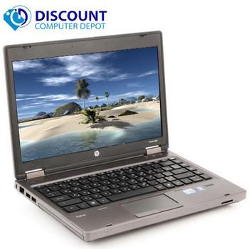 "Fast HP 6360t 13.3"" Laptop Notebook PC Intel 1.6GHz 4GB 160GB  Windows 10 Home"