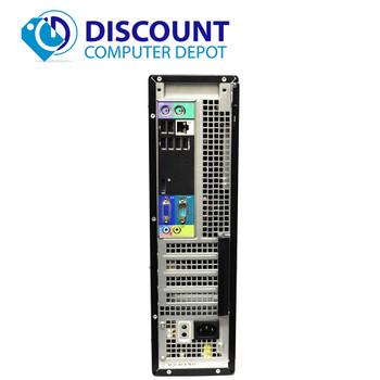 Fast Dell Core Optiplex i3 Windows 10 Desktop Computer 3.1GHz PC 4GB 250GB Wifi