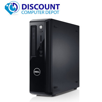 "Fast Dell Vostro Desktop Computer PC i3 3.1GHz 8GB 250GB Windows 10 w/22"" LCD"