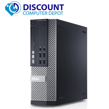 Dell Optiplex Windows 10 Pro Desktop Computer PC Core i5 4th Gen 3.2GHz 4GB 500GB