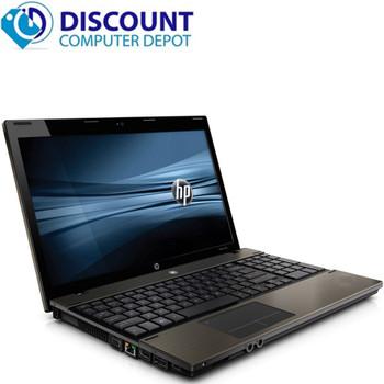 HP ProBook 4520s Laptop Computer 4GB 160GB PC Intel Core i3 Windows 10 Home wifi