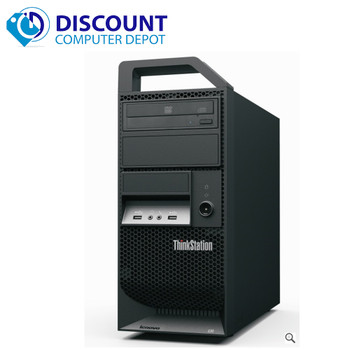 Lenovo ThinkStation E30 Windows 10 Pro Computer PC Core i3 3.2GHz 8GB 500GB