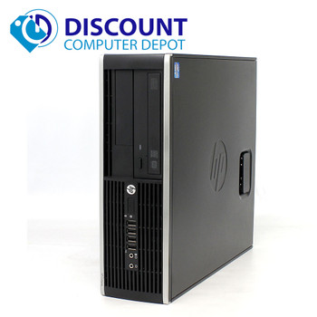 HP 8300 Desktop Computer Quad I5 3.2GHz 8GB 320GB Win10 Pro Dual LCD Ready!