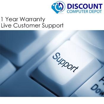 "Dell 9020 USFF Thin Desktop PC i5 2.9GHz 8GB 500GB Windows 10 Pro w/19"" LCD wifi"